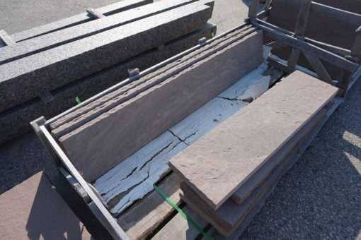 Brownstone Tread 8' or under by South Shore Landscape Supply