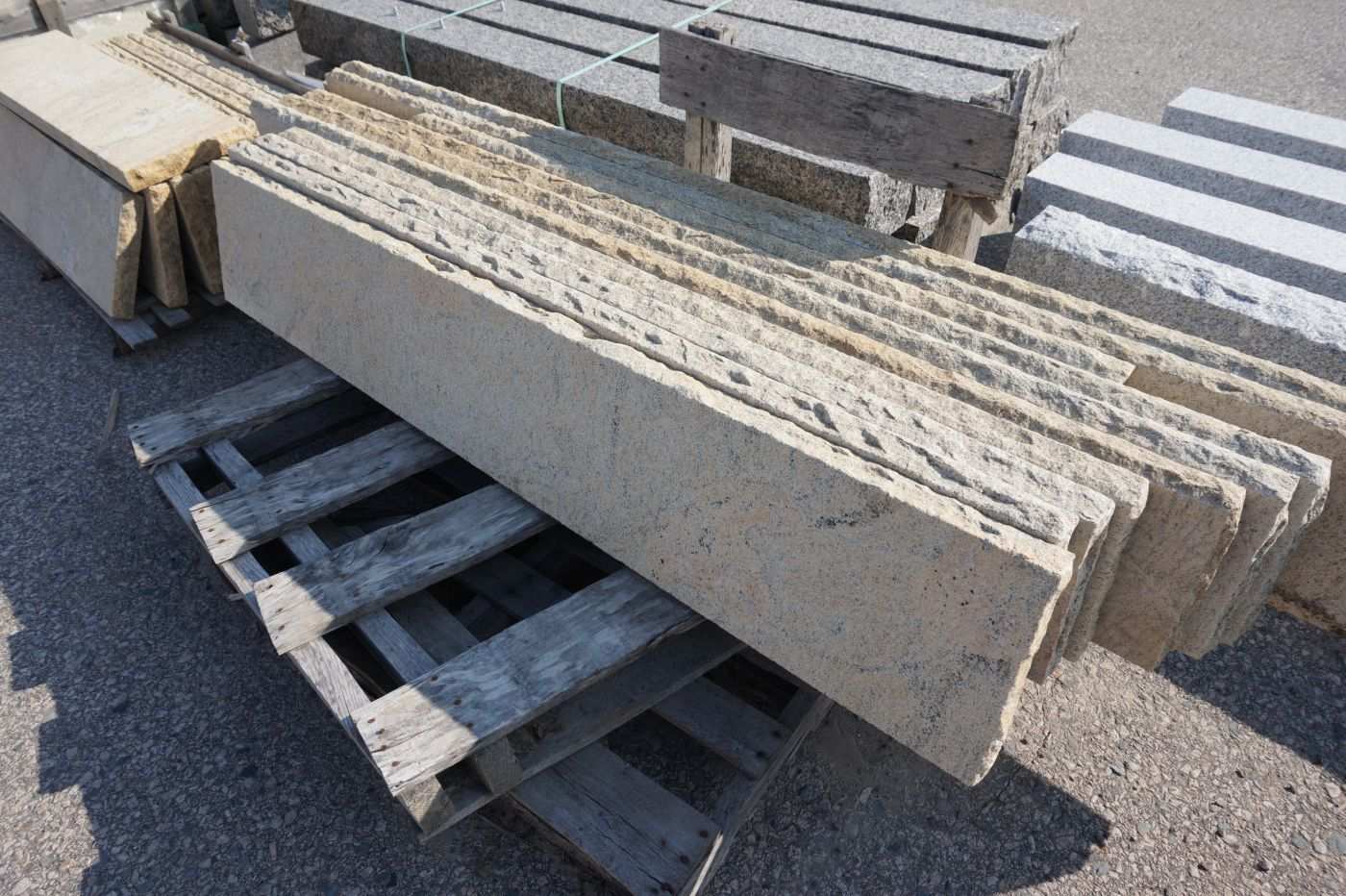 Sandy Point Granite Tread by South Shore Landscape Supply