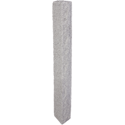 Granite Post – Gray (2 Thermal / 2 Rock Sides)