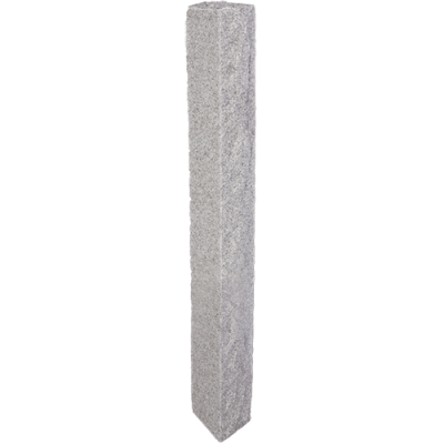Granite Post – Gray (4 Rock Sides)