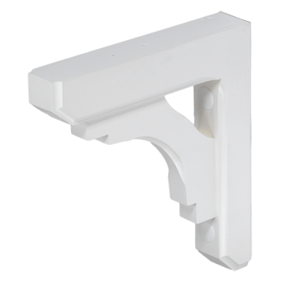Small Wood Bracket – White