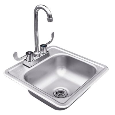 Summerset – Stainless Steel Drop In Sink with Faucet