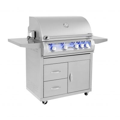 Sunfire 32″ Grill Cart-Grill Sold Seperately