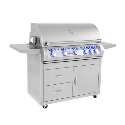 Sunfire 38″ Grill Cart-Grill Sold Seperately